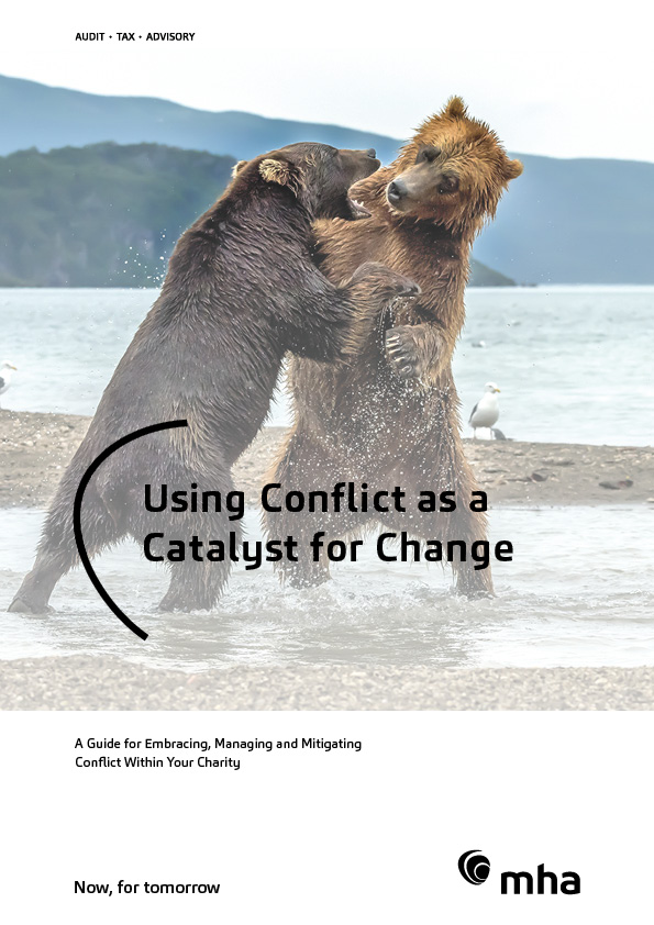 MHA Charity Guide – Using Conflict as a Catalyst for Change