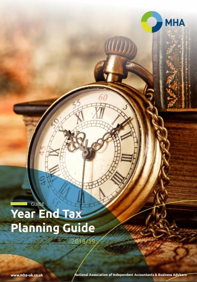 Year End Tax Planning Guide 2018/19