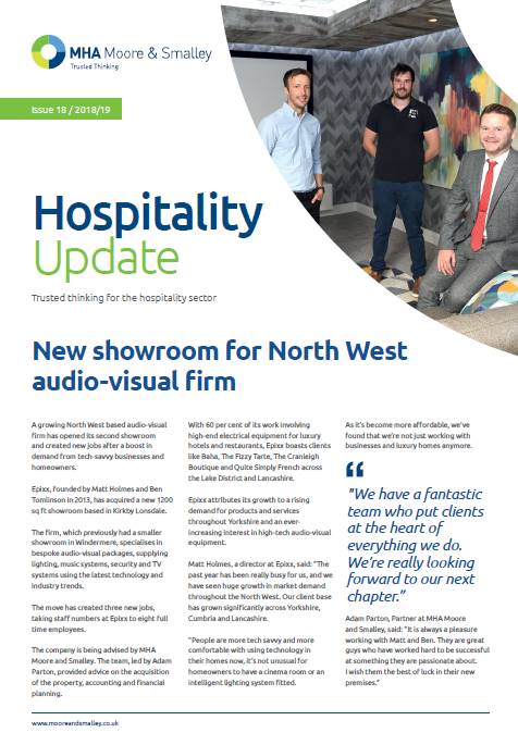 Hospitality Update: Issue 18