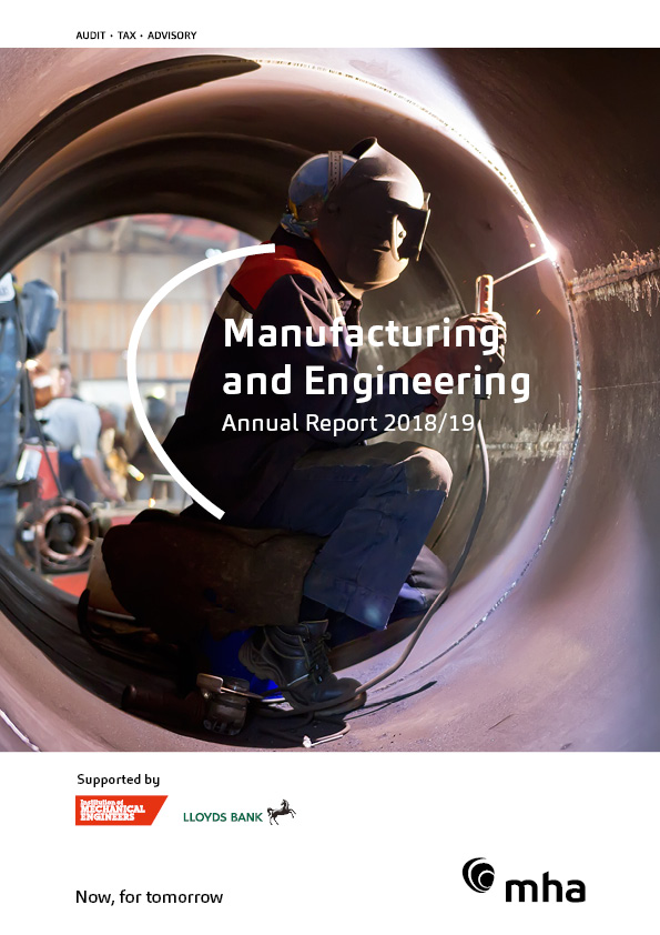 Annual MHA Manufacturing and Engineering Report 2018/19