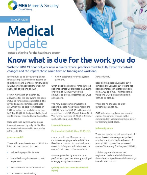 Medical Update: Issue 27