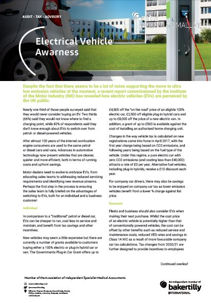 Electric Vehicle Awareness