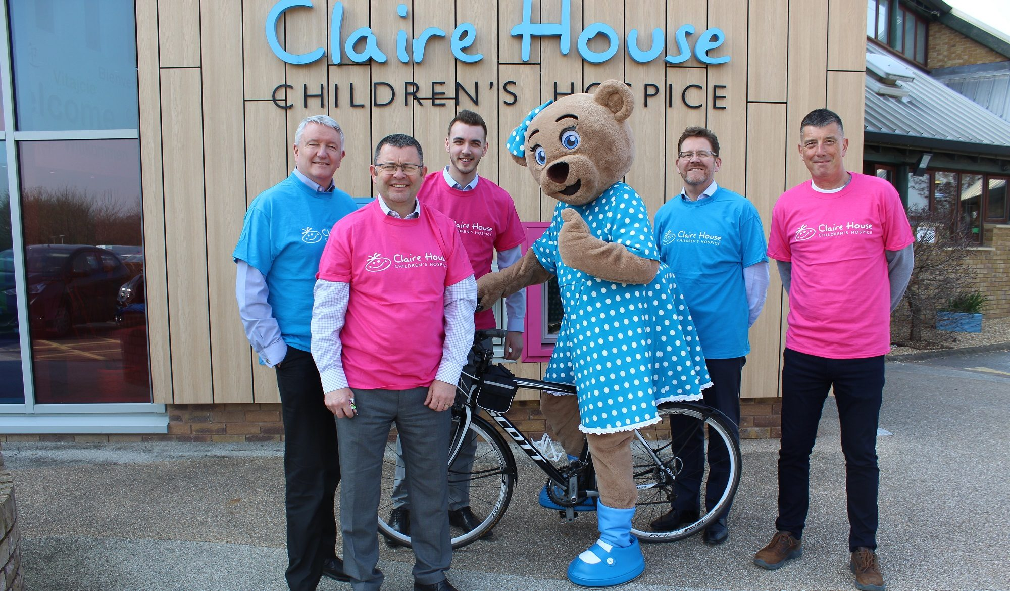 Andy and Co's bike ride will raise money for Liverpool children's hospice