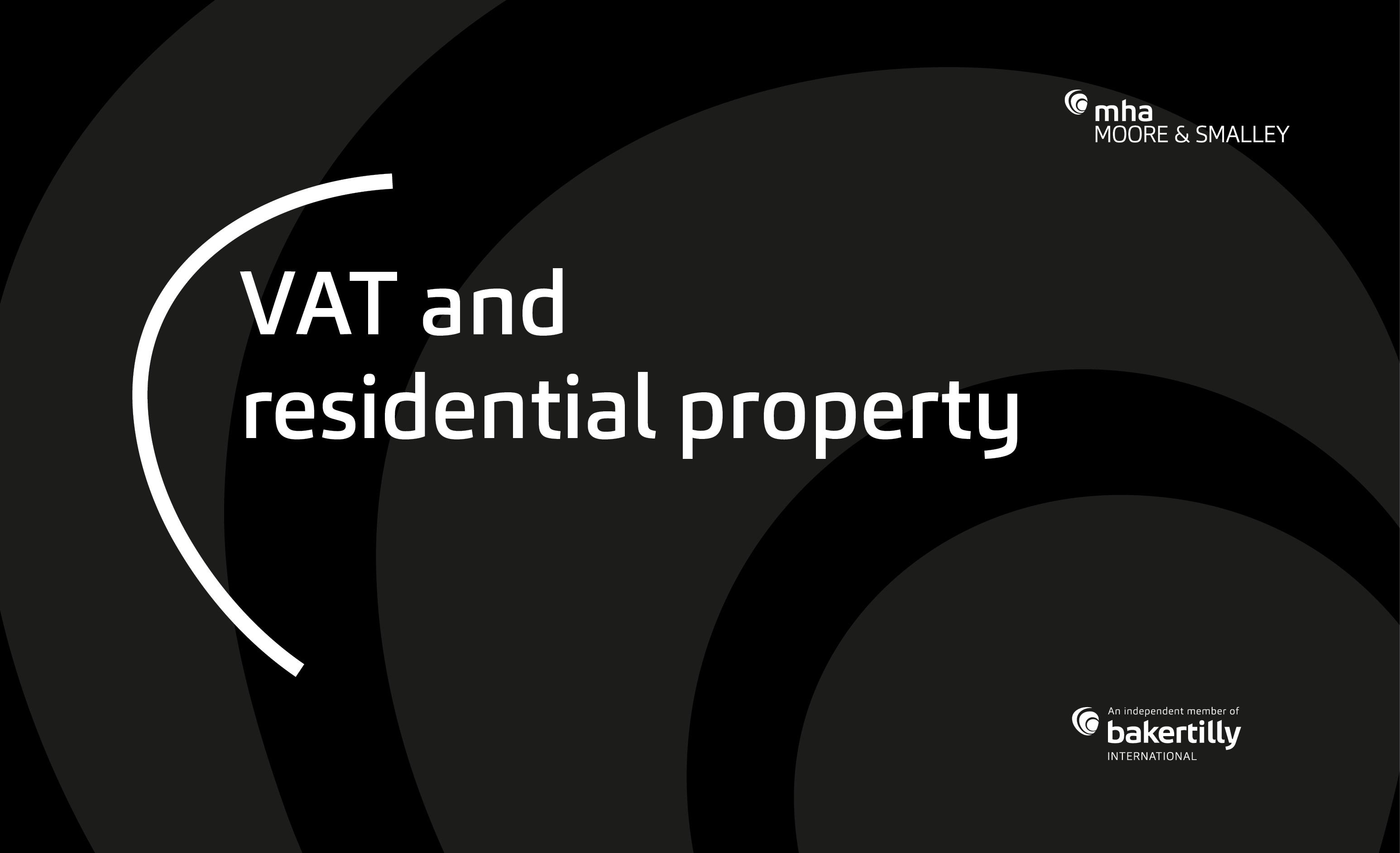 VAT and Residential Property