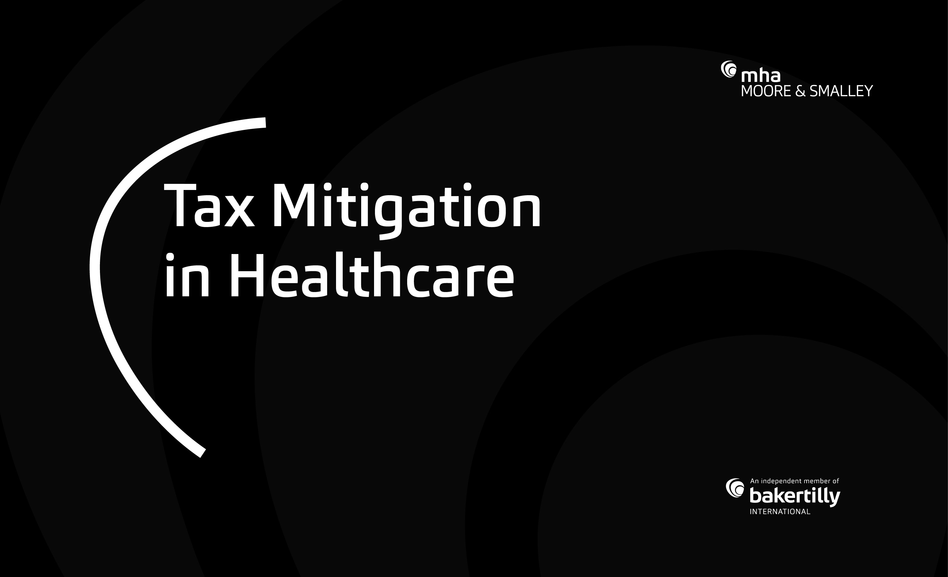Tax Mitigation in Healthcare