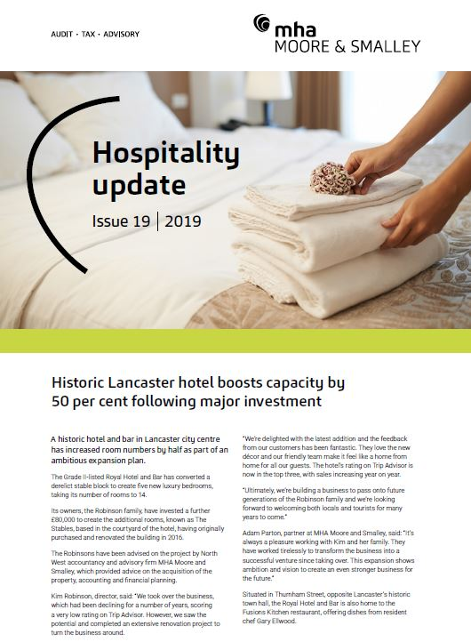 Hospitality Update – Issue 19