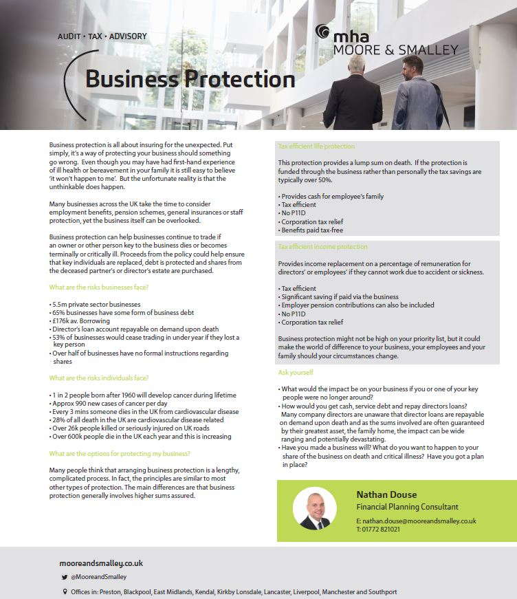 Business Protection Fact sheet