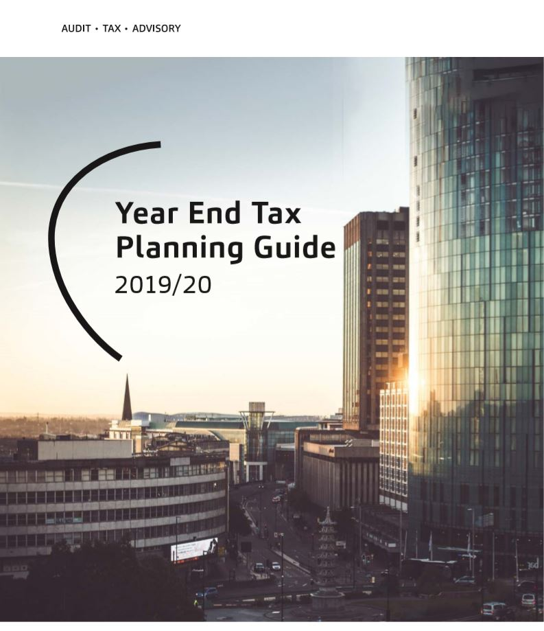 Cover image for Year End Tax Planning Guide