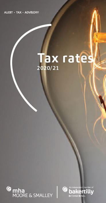 Tax Rates 2020/21