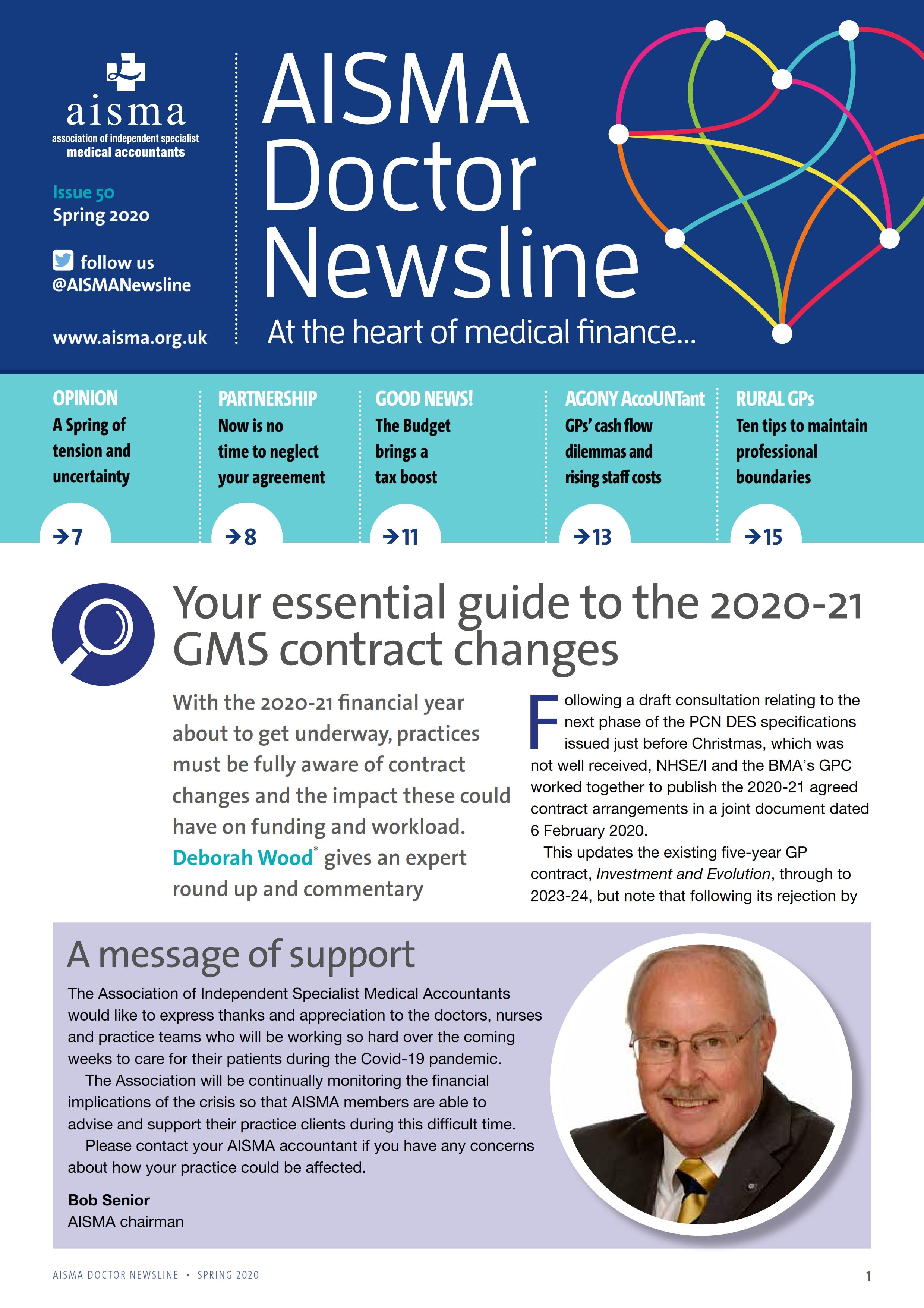 AISMA Doctor Newsline Spring 2020