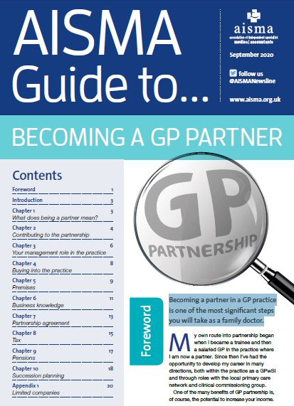 AISMA Guide to becoming a GP Partner