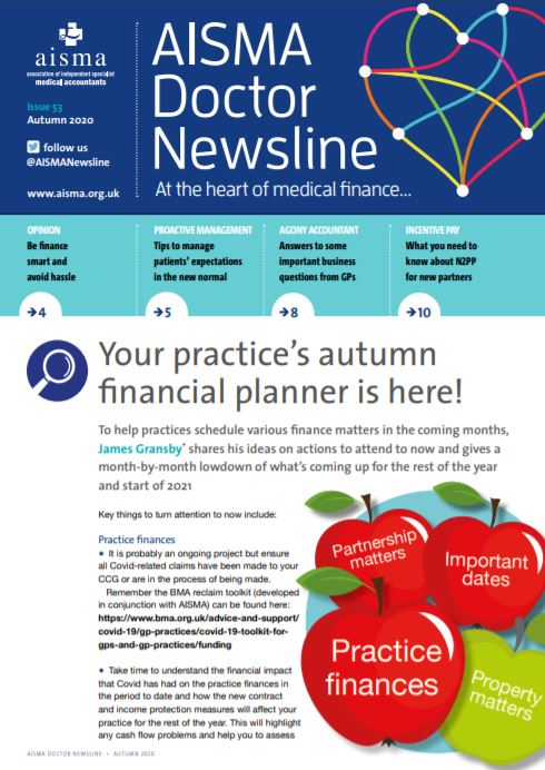 AISMA Doctor Newsline Autumn 2020