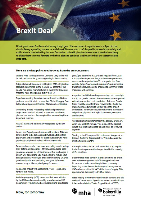 The Brexit Deal