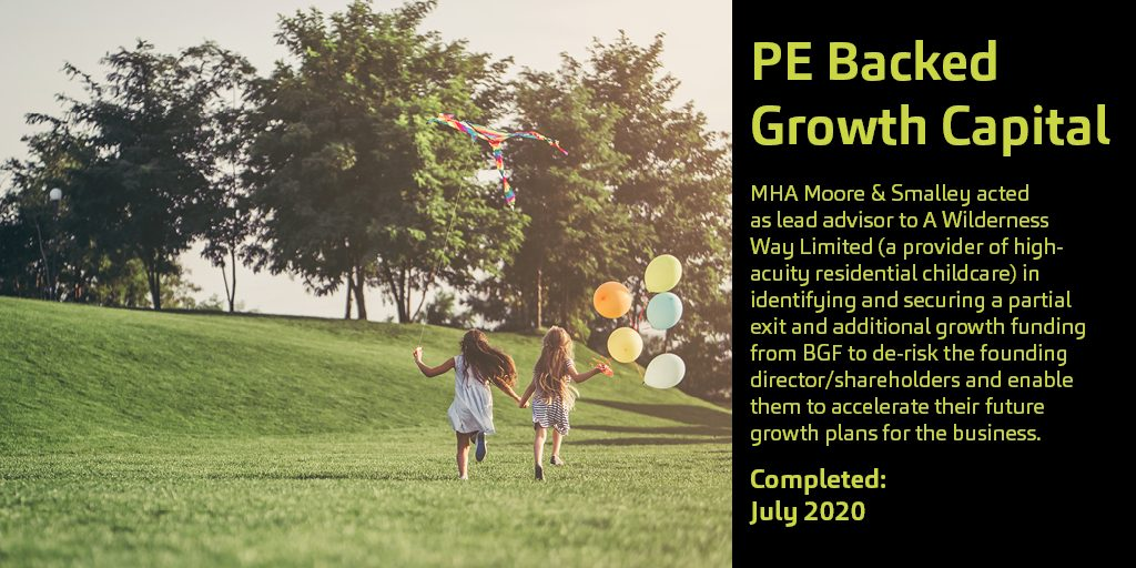 PE Backed Growth Capital