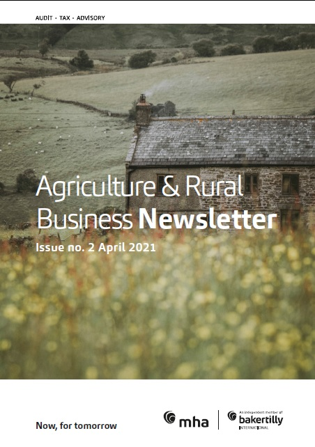 Agricultural and Rural Business Newsletter April 2021