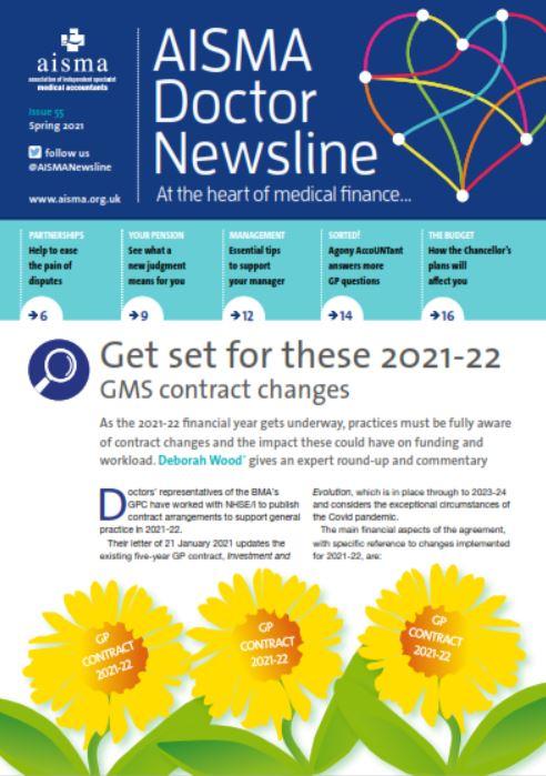 AISMA Doctor Newsline – Spring 2021