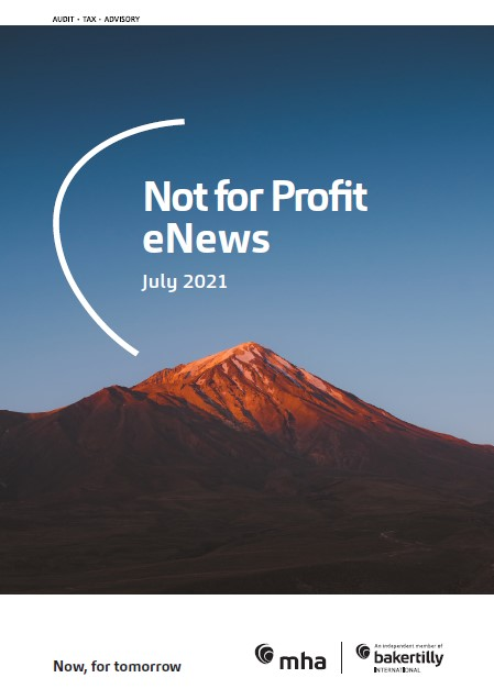 Not for Profit eNews July 2021