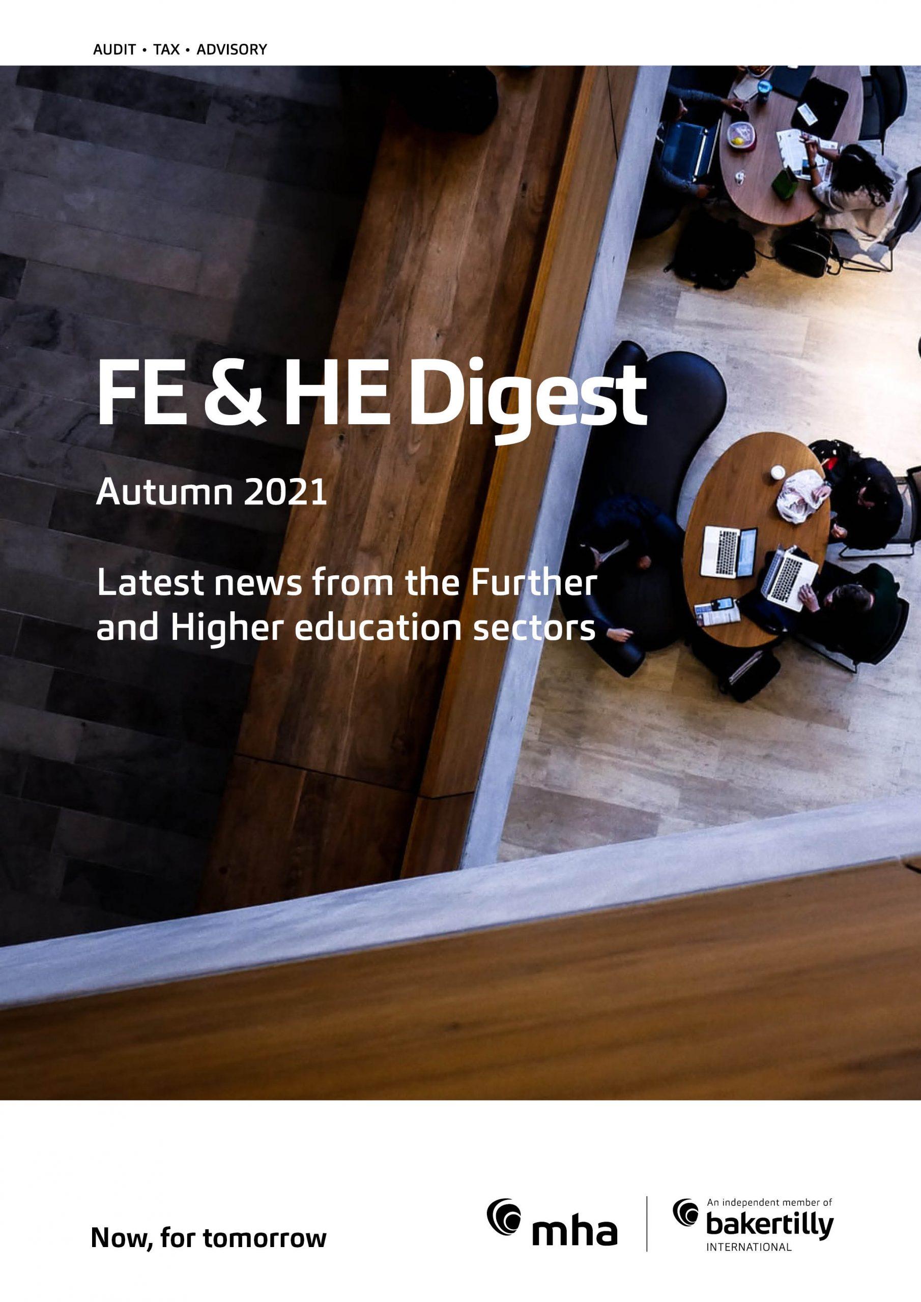 FE & HE Digest – Autumn 2021